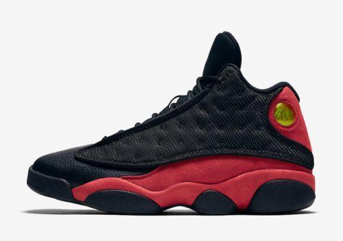 Jordan 13 Bred Black Red