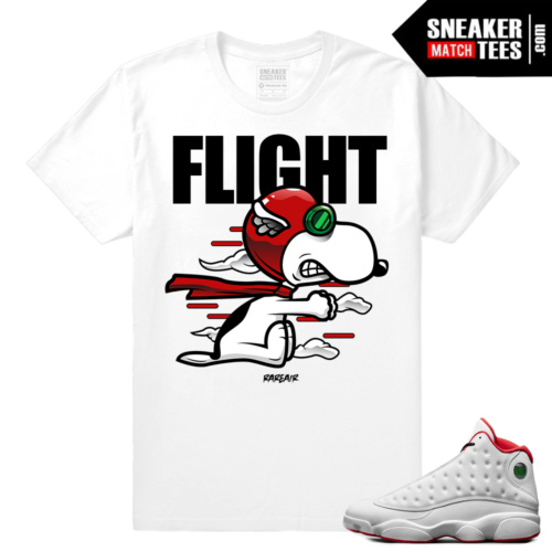 Jordan 13 Sneaker shirts to match