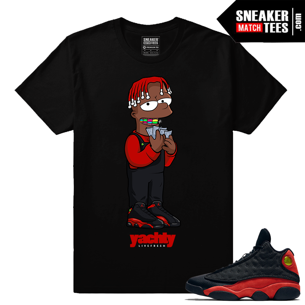 68c0feb3c630 jordan 13 bred shirts to match 13s bred sneaker shirts