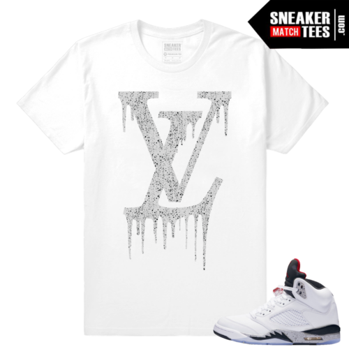 Jordan 5 White Cement Shirts