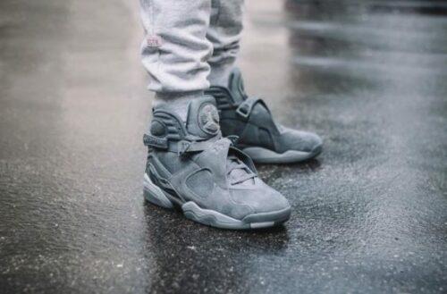 Air Jordan 8 Cool Grey Jordan Release