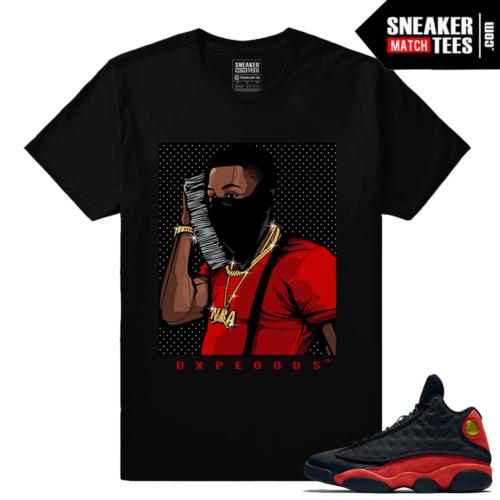 Shirts matching Jordan 13 Bred Money Phone