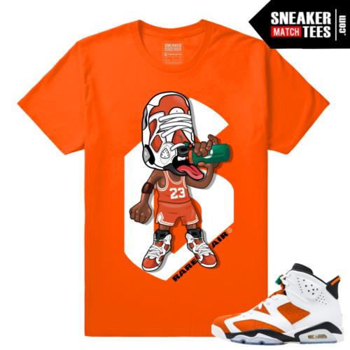 Sneakerhead Gatorade 6s Orange