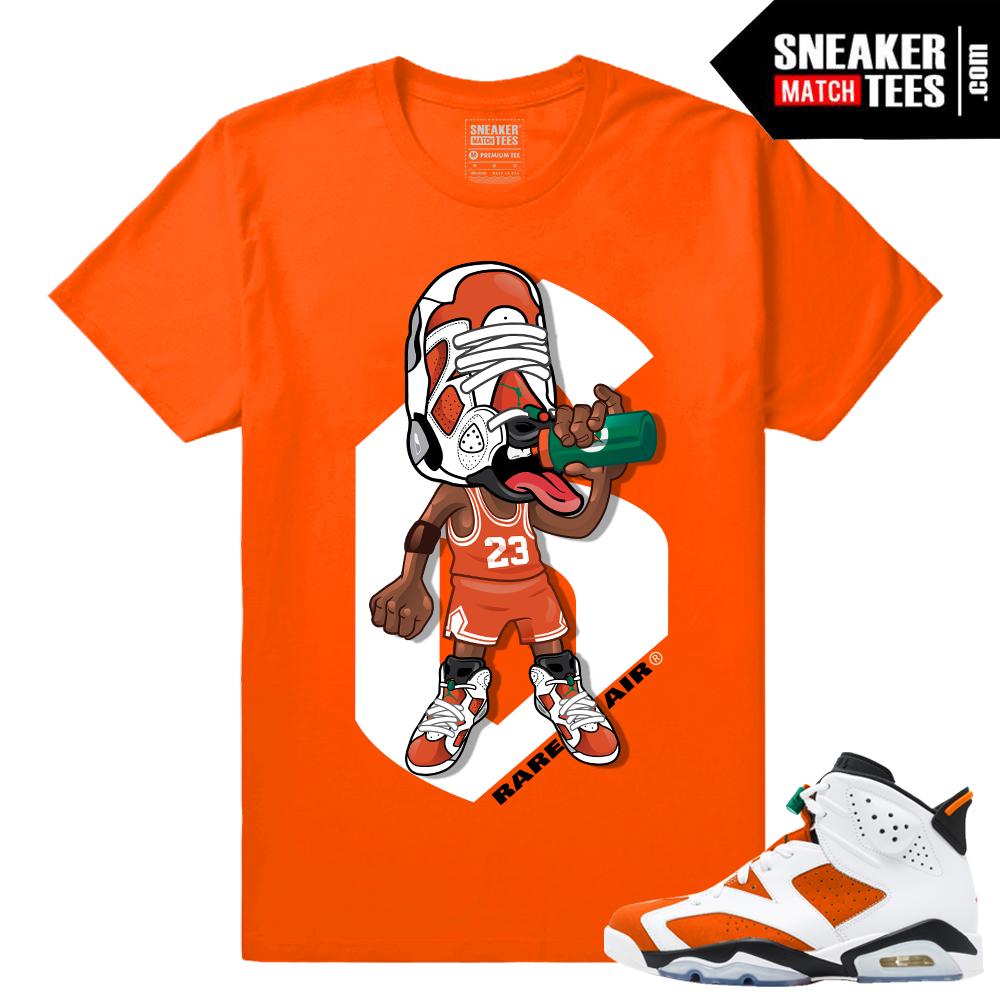 22c3bd1131419b Sneakerhead Gatorade 6s Orange shirts match - SneakerMatchTees.com