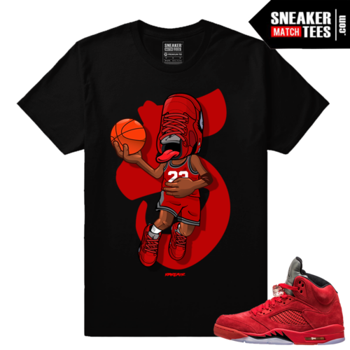 Sneakerhead Jordan 5 Red Suede