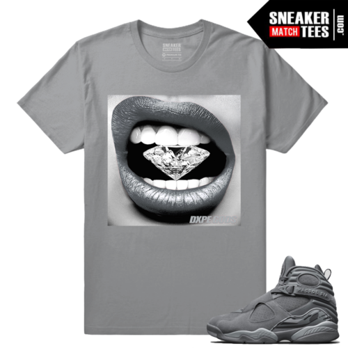 Streetwear matching Jordans Cool Grey 8