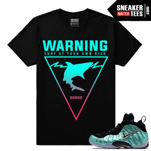 Foamposites Sneaker tees Island Green