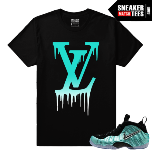 Foamposites Streetwear shirt Island Green