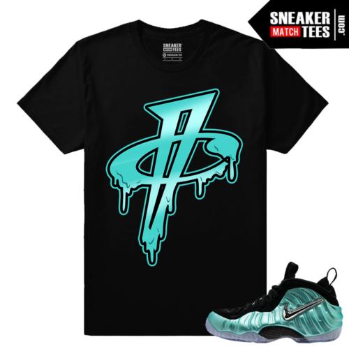 Island Green Foams Matching Sneaker tees shirt