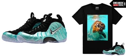 Nike Foamposite Island Green sneakers