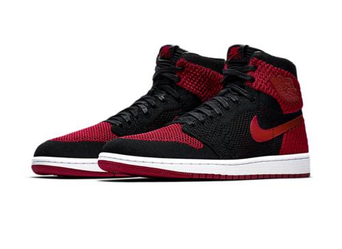 Jordan 1 Banned Flyknit Sneakers