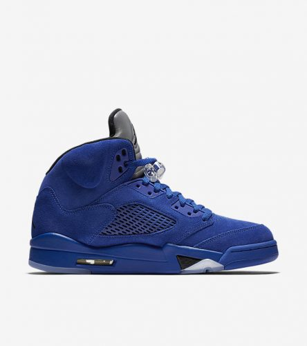 Jordan 5 Blue Suede _4
