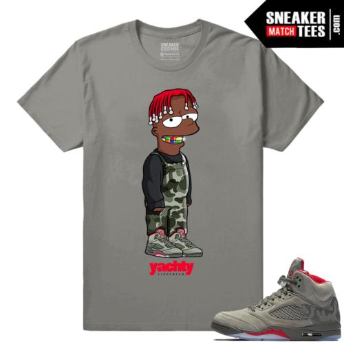 Jordan 5 Camo Lil Yachty T shirt