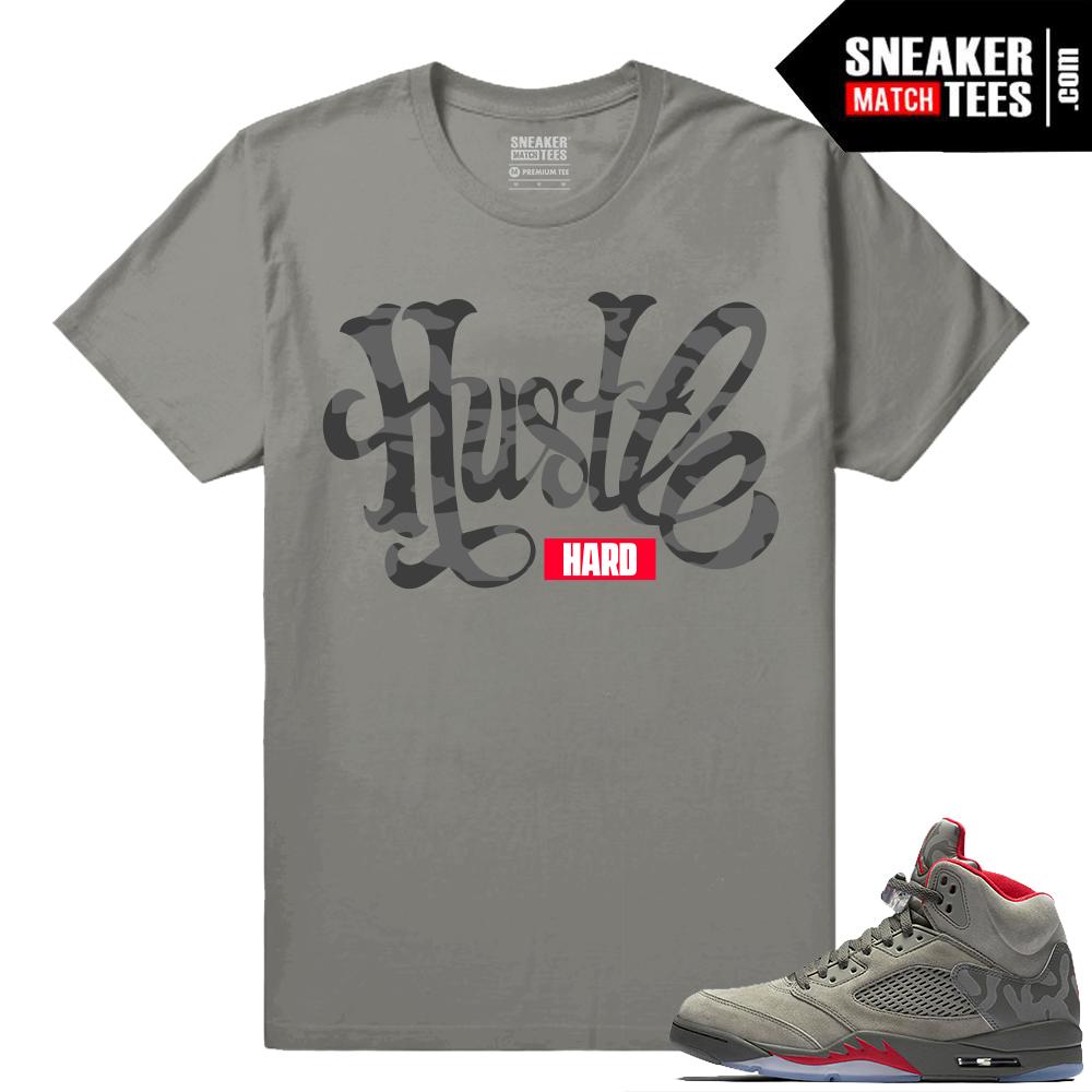 bea7824ed710bc jordan 5 blue suede shirts match fresh new sneaker tees