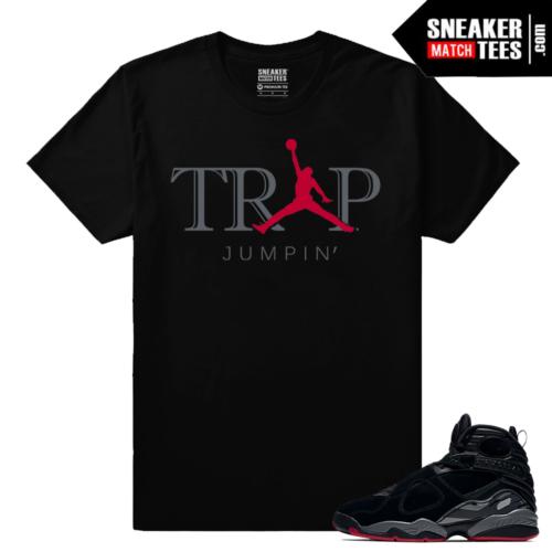 Jordan 8 Bred Match T shirt