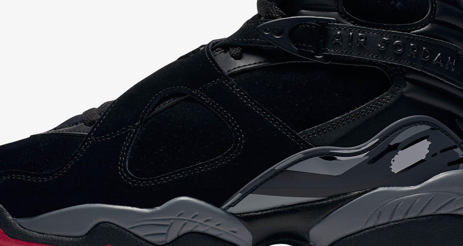 size 40 5f8f8 301bd Jordan 8 Bred Sneaker Tees Shirts to Match - Sneaker Match ...