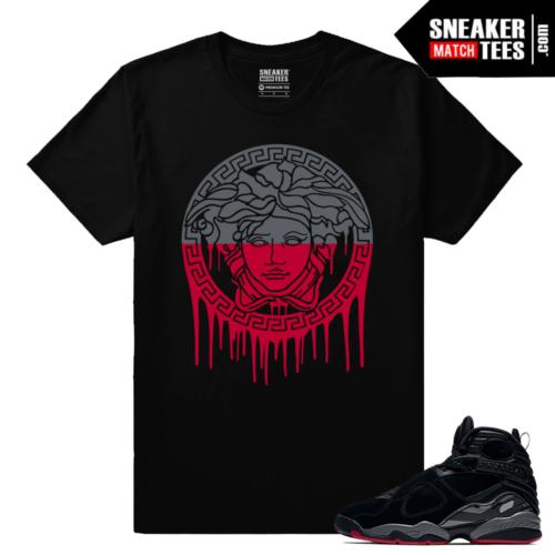 Jordan 8 Bred Sneaker Shirts Outfit