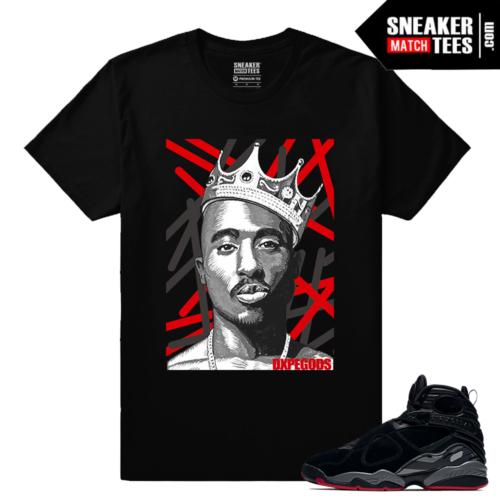 Jordan 8 Bred Sneaker tees