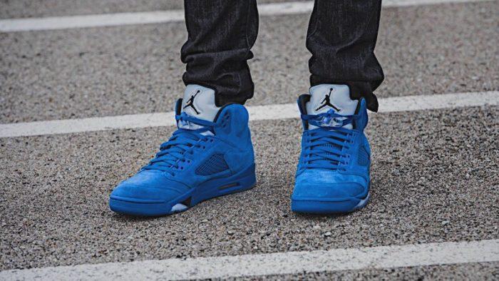 602aa0954976ea New Jordans Releasing This Weekend Air Jordan 5 Blue Suede