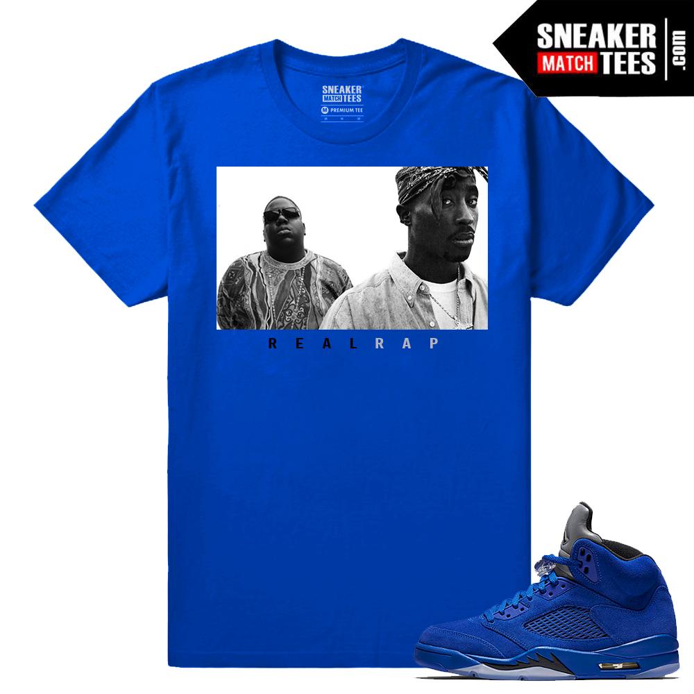 Jordan Retro 5 Sneaker tee clothing