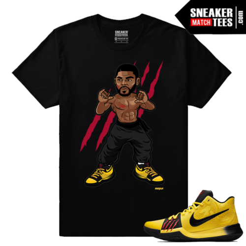 Nike Kyrie 3 Mamba Mentality Sneaker Match Tees