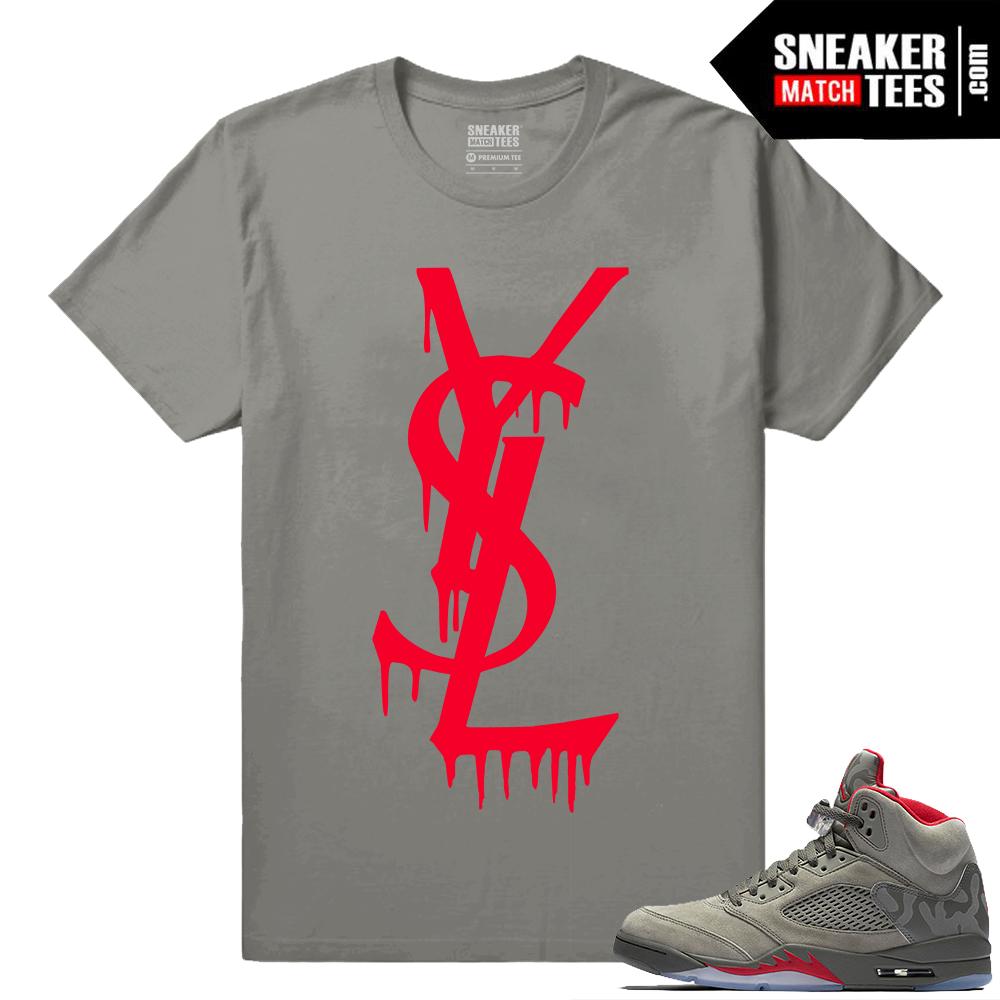 cdfa7343331833 jordan 5 black metallic tees match retro 5 sneaker match shirts