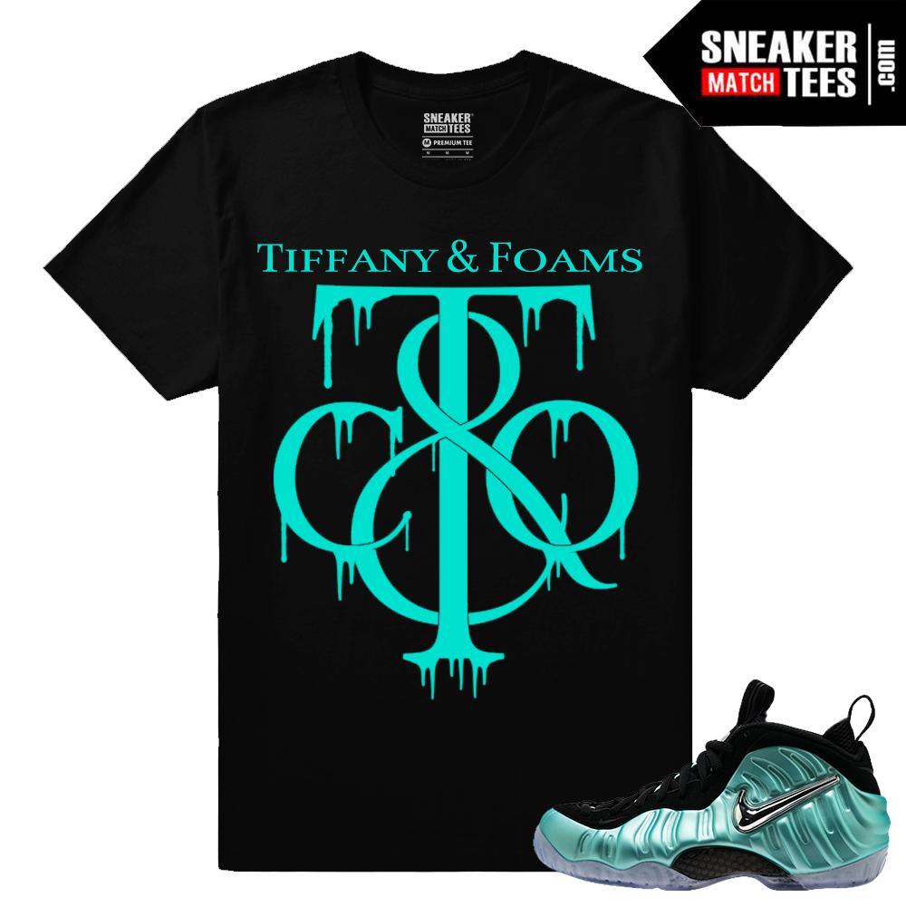 Sneaker matching shirts Foamposite