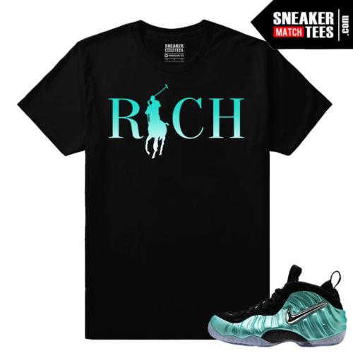Sneaker tees Streetwear matching foamposites