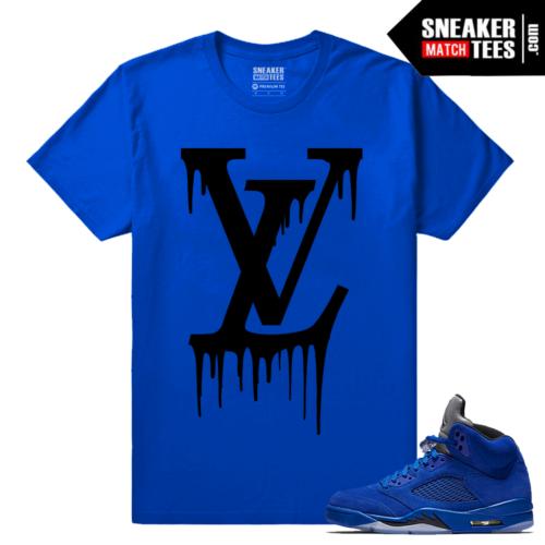 Sneakers Jordan 5 Blue Suede