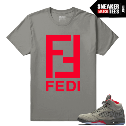 Streetwear matching Jordan 5 Camo