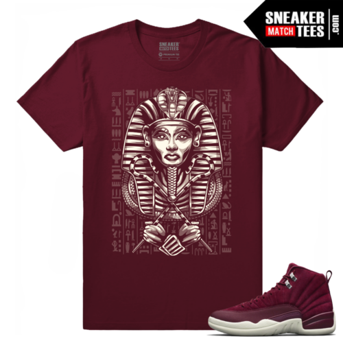 Air Jordan Retro 12 Bordeaux Sneaker tees