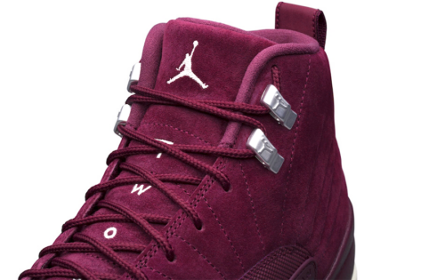 Air jordan 12 Bordeaux _5
