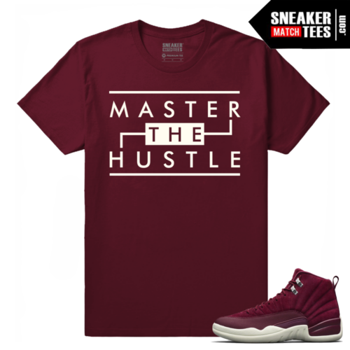Bordeaux 12 Jordan Retro T shirt