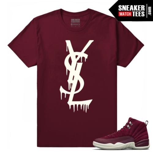 Jordan Retros 12 Sneaker tees Bordeaux