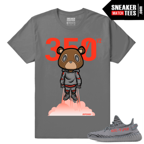 Adidas Yeezy Boost 350 V2 Beluga 2 Grey t shirt Bear Boost