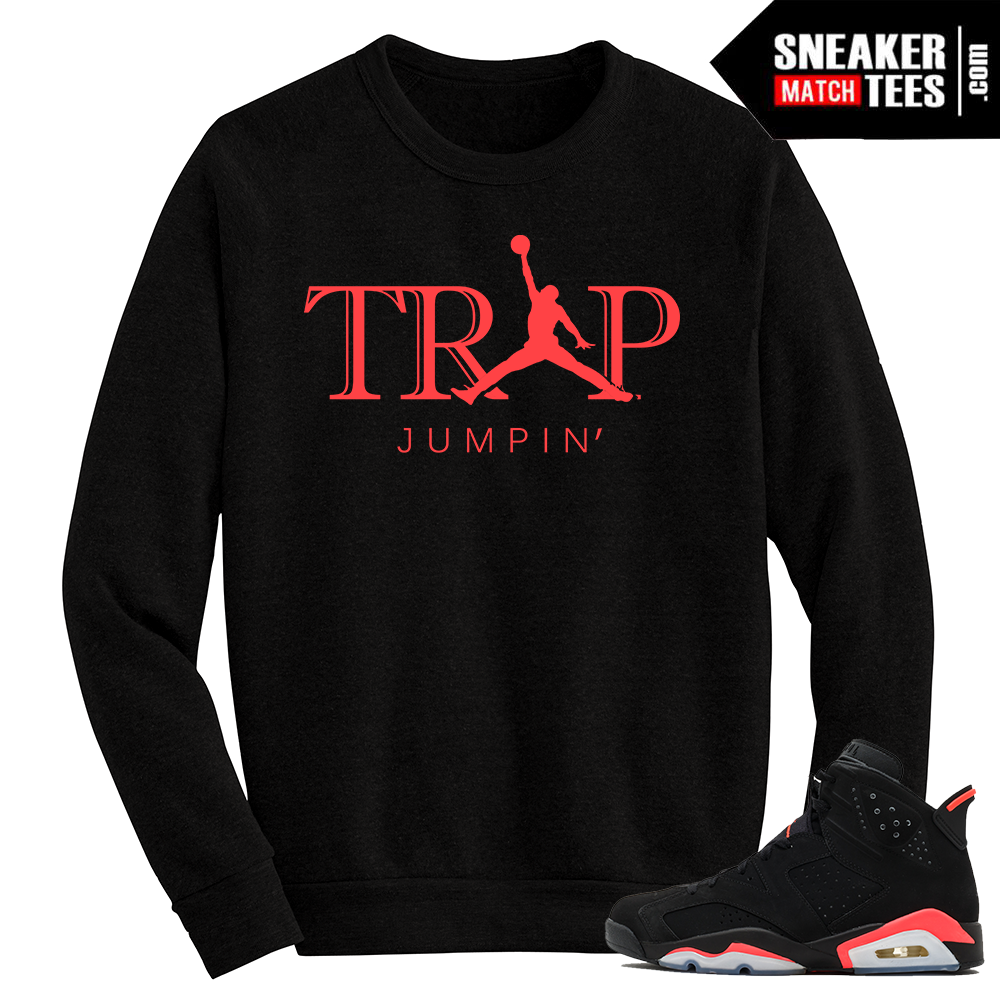 Infrared 6s Crewneck Sweater Trap Jumpin