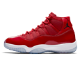 Jordan 11 Win Like 96 Gym Red Display