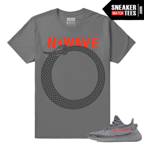 Yeezy Boost 350 V2 Beluga 2 Grey T shirt NuWave Ouroboros