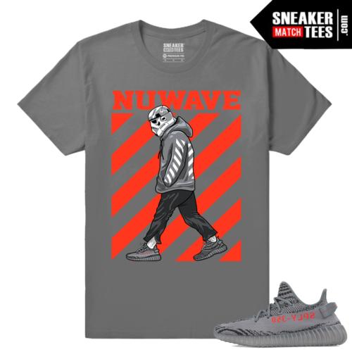 Yeezy Boost 350 V2 Beluga 2 Grey T shirt Nuwave Trooper