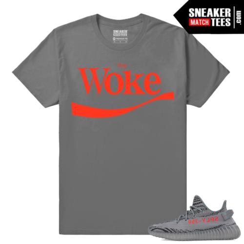 Yeezy Boost 350 V2 Beluga 2 Grey T shirt Stay Woke
