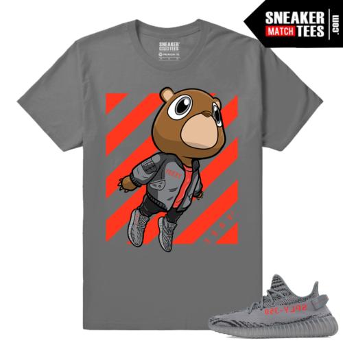 Yeezy Boost 350 V2 Beluga 2 Grey T shirt Yeezy Bear