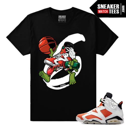 Gatorade 6s Sneaker tees Black Air Gatorade 6s