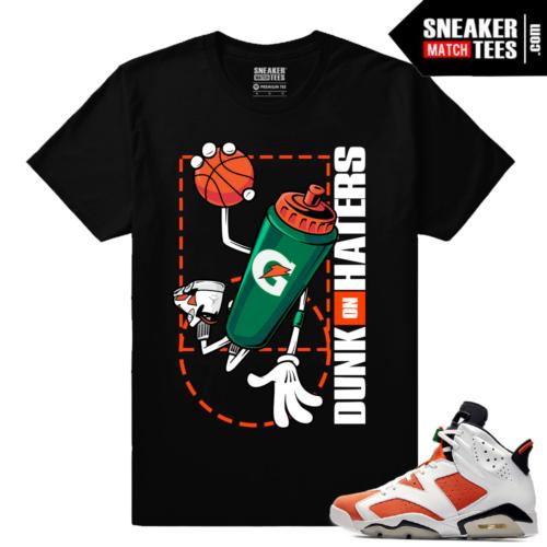 Gatorade 6s Sneaker tees Black Dunk On Haters