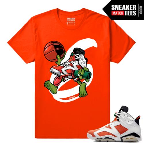 Gatorade 6s Sneaker tees Orange Air Gatorade 6s