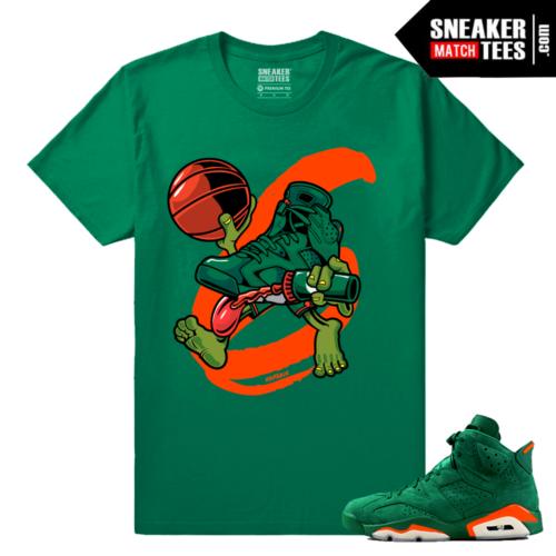 Gatorade 6s Green Sneaker tees Air 6s