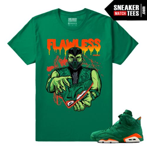Gatorade Green 6s Sneaker tees Flawless 6s