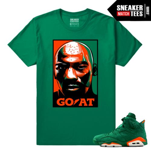 Gatorade 6s Green Sneaker tees Goat