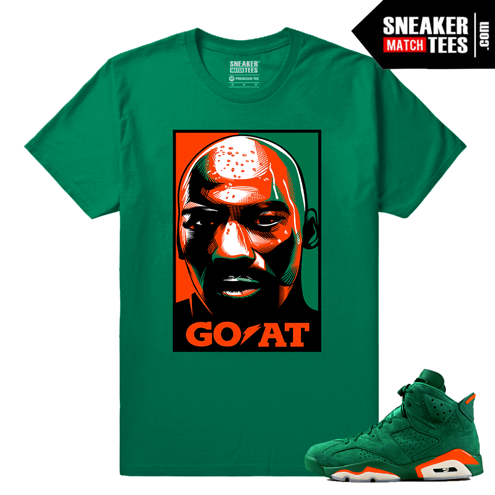 579965c359f Gatorade 6s Green Sneaker tees Goat - Sneaker Match Tees