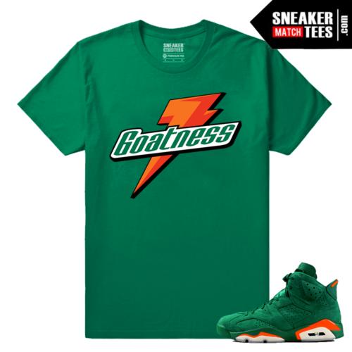 Gatorade Green 6s Sneaker tees Goatness