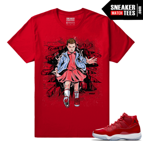 Jordan 11 Win Like 96 Sneaker tees Eleven Stranger Things